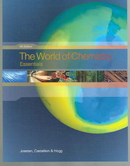 The World of Chemistry 4th edition 9780495012139 0495012130