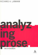 Analyzing Prose 1st edition 9780826461902 0826461905