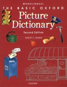 The Basic Oxford Picture Dictionary Monolingual English 2nd edition 9780194372329 0194372324