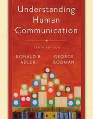 Understanding Human Communication 1st edition 9780195336122 0195336127