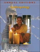 Annual Editions: Anthropology 08/09 31st edition 9780073397542 0073397547