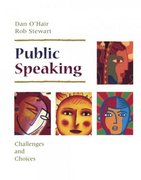 Public Speaking 1st Edition 9780312137229 0312137222