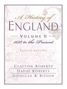 A History of England 4th edition 9780132064835 0132064839