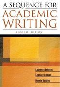 A Sequence for Academic Writing 2nd edition 9780321207807 0321207807