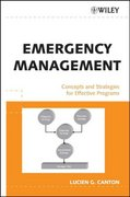 Emergency Management 1st Edition 9780471734871 047173487X