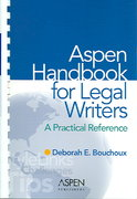 The Aspen Handbook for Legal Writers 1st Edition 9780735545885 073554588X