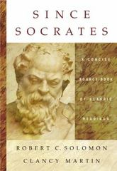 Since Socrates 1st edition 9780534633288 0534633285