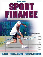 Sport Finance 2nd Edition 9780736067706 0736067701