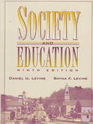 Society and Education 9th edition 9780205189359 0205189350