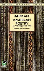 African-American Poetry 1st Edition 9780486296043 0486296040