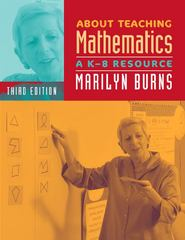 About Teaching Mathematics 3rd Edition 9780941355766 0941355764