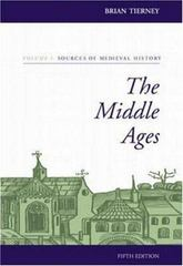 The Middle Ages 6th Edition 9780073032894 0073032891