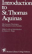 Introduction To Saint Thomas Aquinas 1st edition 9780075536536 0075536536