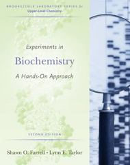 Experiments in Biochemistry 2nd Edition 9780495013174 049501317X
