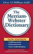 The Merriam-Webster Dictionary 11th Edition 9780877799306 087779930X