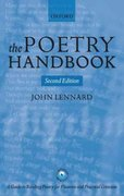 The Poetry Handbook 2nd Edition 9780199265381 0199265380