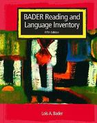 Reading and Language Inventory 5th edition 9780131196179 0131196170