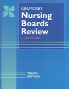 AJN/Mosby Nursing Boards Review 10th edition 9780815100805 0815100809