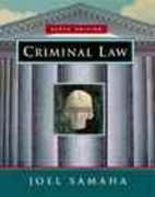 Criminal Law 6th edition 9780534547202 0534547206