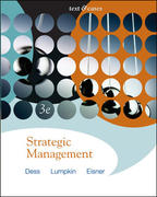 Strategic Management: Text and Cases with Online Learning Center access card 3rd edition 9780073267203 0073267201