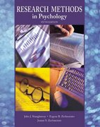 Research Methods in Psychology 5th edition 9780072312607 0072312602