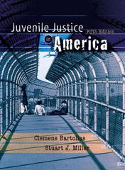 Juvenile Justice in America 5th edition 9780132256940 0132256940