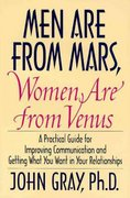 Men Are from Mars, Women Are from Venus 1st edition 9780060168483 006016848X
