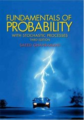 Fundamentals of Probability, with Stochastic Processes 3rd edition 9780131453401 0131453408