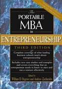 The Portable MBA in Entrepreneurship 3rd edition 9780471271543 0471271543