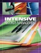 Intensive Records Management 5th edition 9780538729734 0538729732