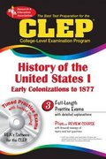 The CLEP History of the United States I 0 9780878912728 087891272X