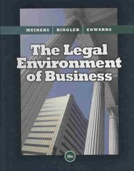 The Legal Environment of Business 10th edition 9780324654363 0324654367