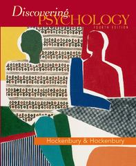 Discovering Psychology Fourth Edition 4th edition 9780716776543 0716776545