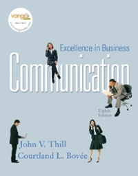 Excellence in Business Communication 8th edition 9780136157502 0136157505