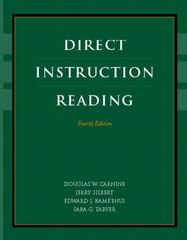 Direct Instruction Reading 4th Edition 9780131123083 0131123084