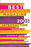The Best American Magazine Writing 2005 2005th edition 9780231137805 023113780X