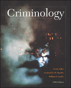 Criminology (NAI Text Alone) 5th edition 9780072559514 0072559519