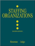 Staffing Organizations 4th edition 9780072482591 0072482591