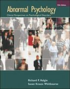 Abnormal Psychology 5th edition 9780073347080 0073347086