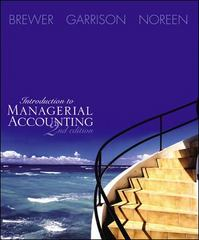 Introduction to Managerial Accounting 2nd edition 9780072817874 0072817879