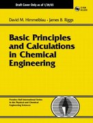 Basic Principles and Calculations in Chemical Engineering 8th Edition 9780132346603 0132346605