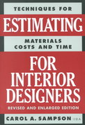 Estimating for Interior Designers 7th Edition 9780823016297 0823016293