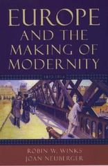 Europe and the Making of Modernity 1st Edition 9780195156225 0195156226