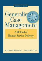 Generalist Case Management 3rd edition 9780495004882 049500488X