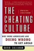 The Cheating Culture 0 9780156030052 0156030055