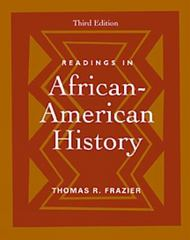 Readings in African-American History 3rd edition 9780534523732 0534523730