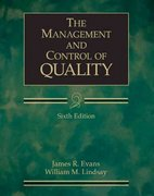 The Management and Control of Quality (with CD-ROM and InfoTrac) 6th edition 9780324202236 0324202237