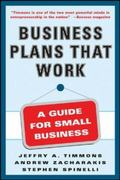 Business Plans that Work 1st Edition 9780071412872 0071412875