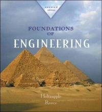 Foundations of Engineering 2nd edition 9780072480825 0072480823