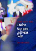 American Government and Politics Today, 2005-2006 (with PoliPrep) 12th edition 9780534631628 0534631622